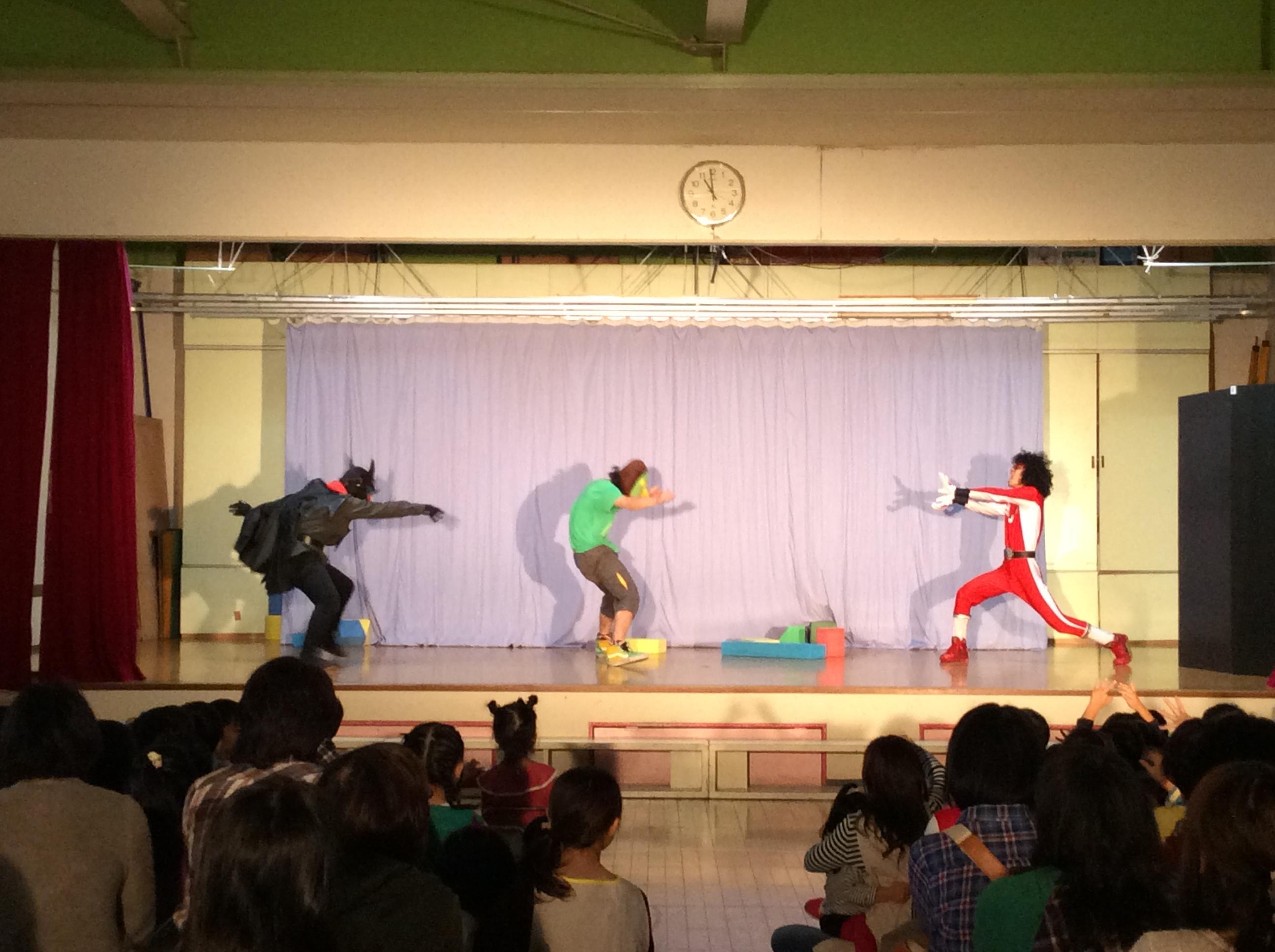 「もじゃキング」幼稚園公演